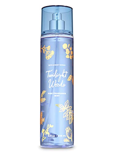 Bath Body Works Twilight Woods 8.0 oz Fine Fragrance Mist (Version may vary Red/Blue)