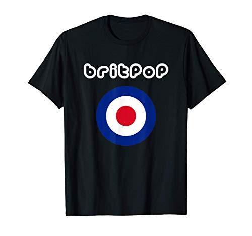 Britpop - Roundel Mod British Target Camiseta
