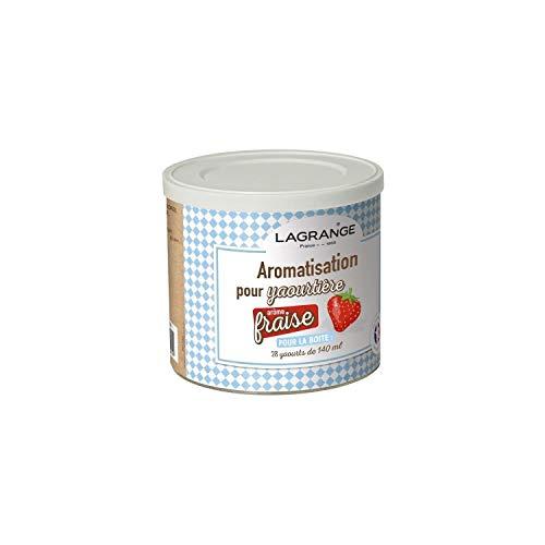 Lagrange - 380320 - Pot de 425g arome fraise pour yaourtiŠre