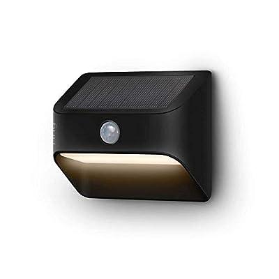 Ring Solar Steplight -- Outdoor Motion-Sensor Security Light, Black (Ring Bridge required)