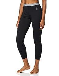 Odlo Damen Unterhose SUW Bottom Pant NATURAL 100% MERINO WARM, black, S, 110831