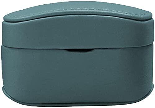 LILAODA Funda de Cuero duraderas Accesorios de Caja de protección Completa Cubierta de la Piel FOR-S-ONEY WF-1000XM4 Eje de la Escalera de audífono-Azul