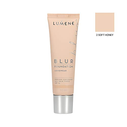 LUMENE BLUR FOUNDATION 2 SOFT HONEY 30ML
