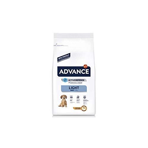 AFFINITY Advance Canine Adult Light Mini Pollo ARROZ 1,5KG, Negro, Estandar, 1500 ⭐