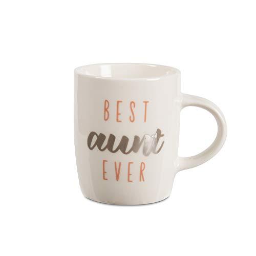 Pavilion Gift Company Best Aunt Ever Mini espresso mug, 5 oz