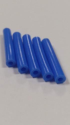 5 Tubos de teflón 3D para boquilla, PTFE 1,75 mm filamento ID 1,9 mm OD 4 mm DDG Hotend witbox 2 y hephestos 2