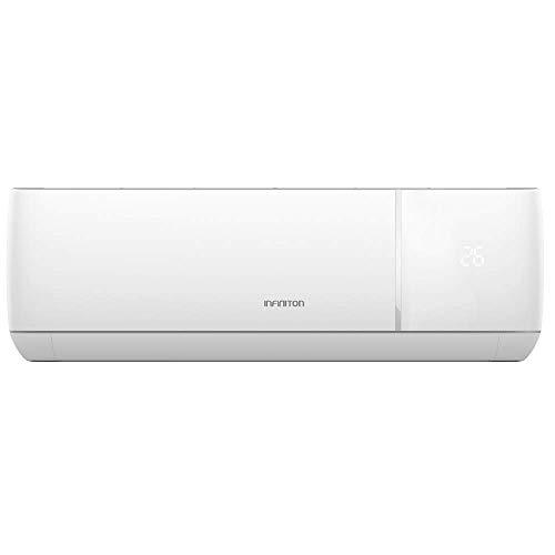 INFINITON Aire Acondicionado Split (A++, Inverter, Gas R32, WiFi, Deshumidificador, Funcion Eco, i-Clean) ((2021) SPLIT-3824NF | 12000 BTU, 3000 Frigorías)