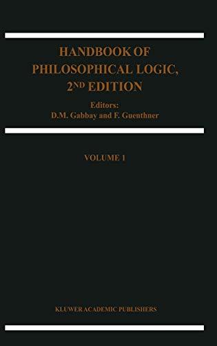 Handbook of Philosophical Logic (Handbook of Philosophical Logic, 1, Band 1)