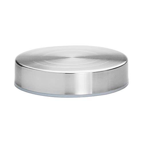 Borosil Endura Glass Storage Jar with Stainless Steel Lid, 350 ml