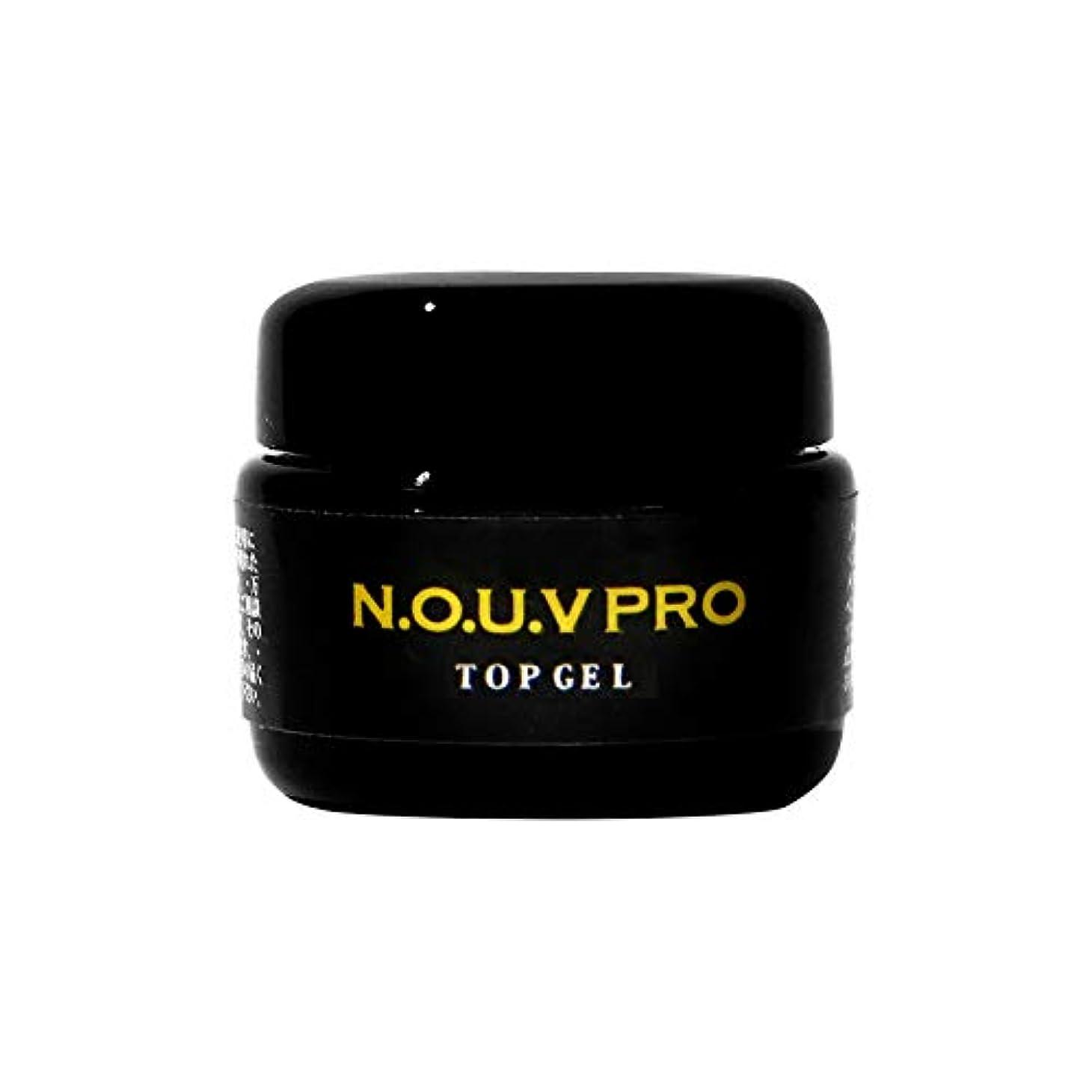シャッフル不透明な計算可能NOUV PRO トップジェル 10g