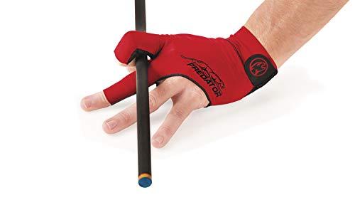 Predator Handschuh, Second Skin, 3-Finger, rot Größe S&M