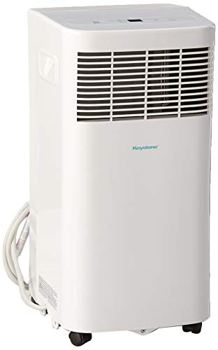 """Keystone KSTAP06D 115V Portable Air Conditioner with """"Follow Me"""" Remote Control for Rooms up to 50-Sq. Ft."""