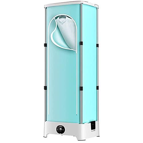HFFFHA Secadora de Ropa eléctrica doméstica, Elemento de calefacción de cerámica PTC, 900 w 1,5 Metros Ropa Infantil de Armario, cortadoras de Secado de Secado rápido de portátil