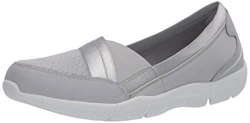 Skechers BE-Lux DAYLIGHTS, Zapatillas Mujer, Gray, 39 1/3 EU