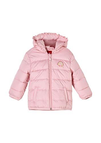 s.Oliver Unisex - Baby Steppjacke mit Wattierung pink 92