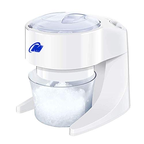 Fantastic Prices! HIZLJJ Electric Ice Shaver & Snow Cone Maker, Snow, Drinks, Parties Freestanding C...