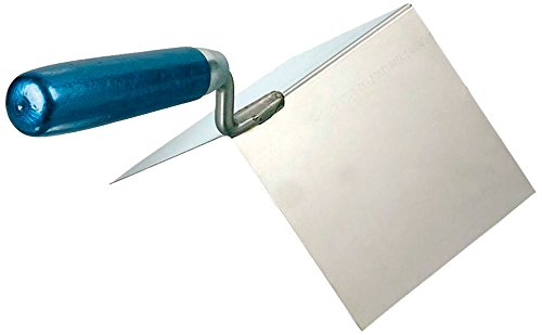 KAUFMANN Außeneckenkelle rostfrei mit Holzgriff 110 x 75 x 75 mm, 42.065.02