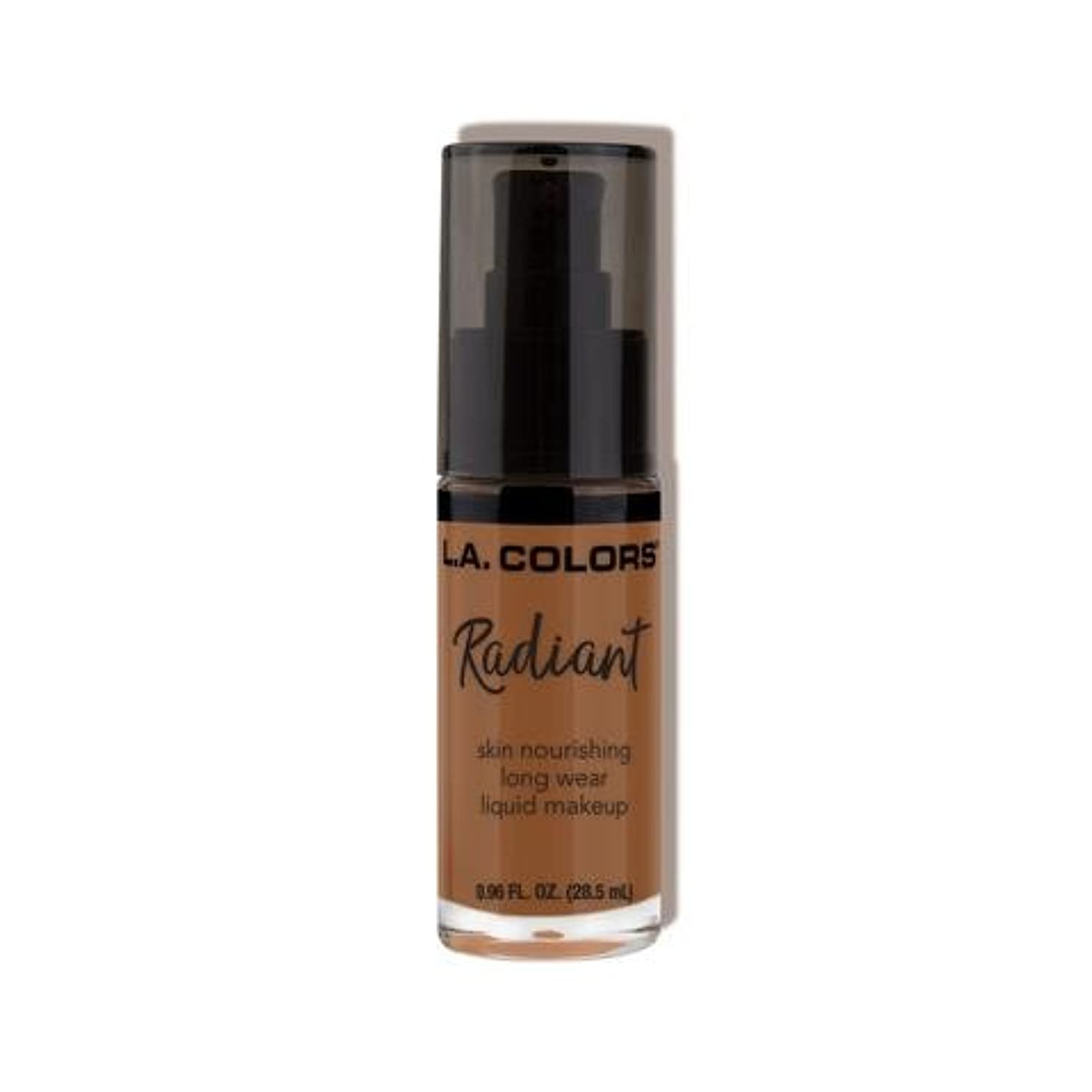 肩をすくめる先生すべき(3 Pack) L.A. COLORS Radiant Liquid Makeup - Ginger (並行輸入品)
