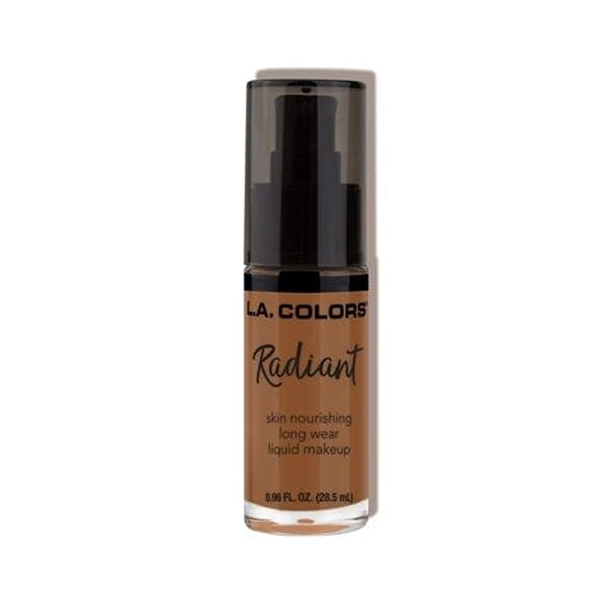 パトロン文敬(3 Pack) L.A. COLORS Radiant Liquid Makeup - Ginger (並行輸入品)