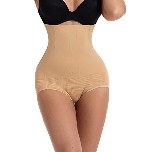 Push-up de mujer elevador de cinturón Cintura Circunferencia Circumnamante Circunferencia Control de vientre Bragas Shapewear Slimming Forma Cintura Trainer Body ( Color : Apricot 1 piece , Size : S )