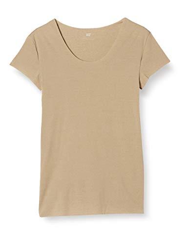 [グンゼ] クルーネックTシャツ(撥水) YV2633 Tシャツ専用 in.T(インティー) メンズ クリアベージュ L