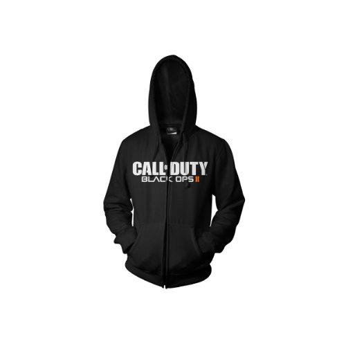 CALL OF DUTY Black Ops 2 - Sweatshirt - Black Logo Zipper Hoodie (M)
