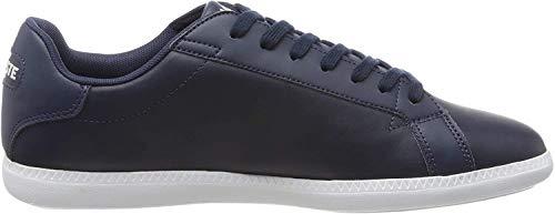 Lacoste Womens Graduate BL 1 SFA Sneaker, Blau (Navy/White), 39 EU