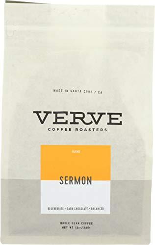 Verve Coffee Roasters, Coffee Sermon Blend Organic, 12 Ounce