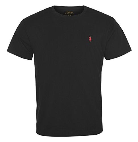 Polo Ralph Lauren Men's Crew-Neck T-Shirt (X-Large, Black)