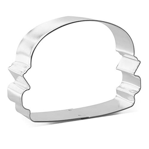 Hamburger Cookie Cutter 3.5 Inch - Made in the USA – Foose Cookie...