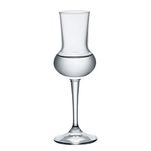 Bormioli Rocco 166180 Riserva Grappakelch, 80ml, Glas, transparent, 6 Stück - 3