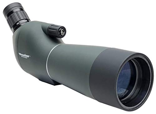RangeHAWK Target Shooting Spotting Scope (20-60x60), Clear Optics Best for Shooting Range, Hunting, Bird Watching, Archery, Astronomy, Glassing, and More.