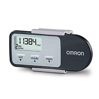 Omron Tri-Axis Alvita Optimized Pedometer - Features 4 Activity Modes - Black HJ-321