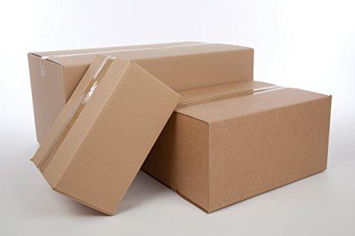 Pack de 5 cajas de cart/ón sencillo 200 x 200 x 200 mm | N1 Sumicel/® 4 solapas