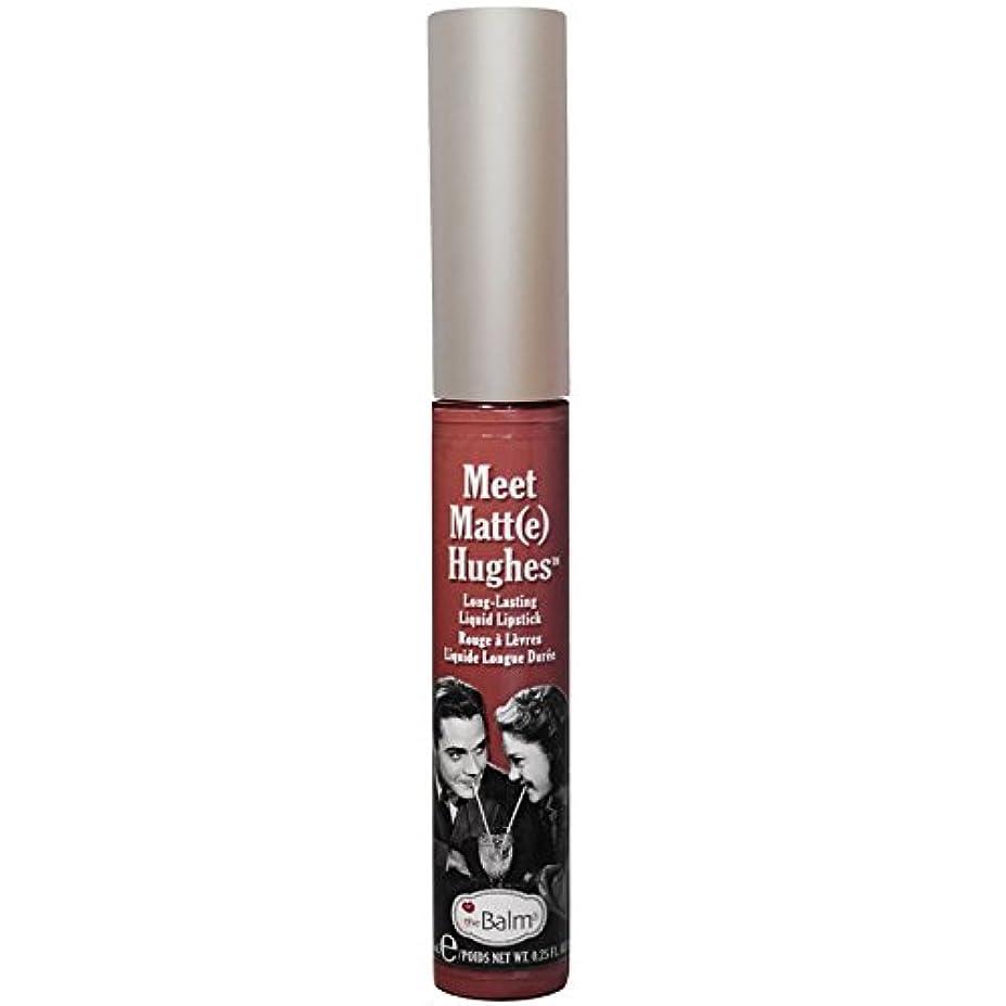 衣類捕虜配偶者theBalm - Meet Matt(e) Hughes Long-Lasting Liquid Lipstick Trustworthy [並行輸入品]