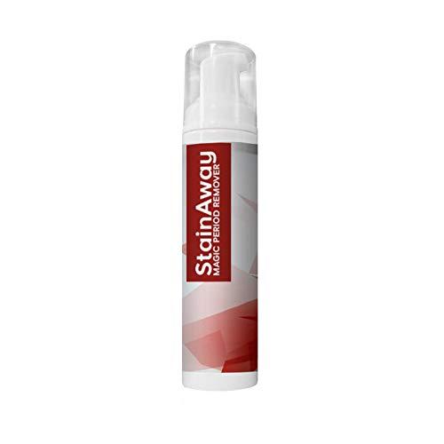 ZB TOP StainAway Magic Period Remover, Agente de Limpieza en seco para Manchas de Sangre Menstrual, alfombras no tóxicas, Ropa Interior, Sudor, Vino, Sangre, Fruta, quitamanchas y Limpiador (100ml)