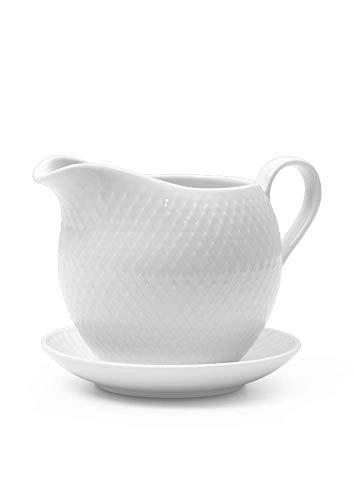 Rosendahl Rhombe Sauce Boat 67 cl White Porcelain Kaffeekanne