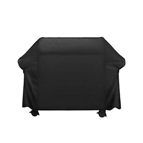 OA-Cover Housse De Protection De Four D'ombrage Extérieur Housse De Pluie Barbecue, Plastique 600D Noir Convient pour Les Fours, Barbecues, BBQ, Meubles,Black,147 * 61 * 122Cm