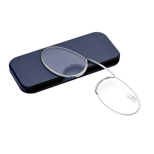 Gafas lectura mixtas sin patillas Ovaladas transparentes