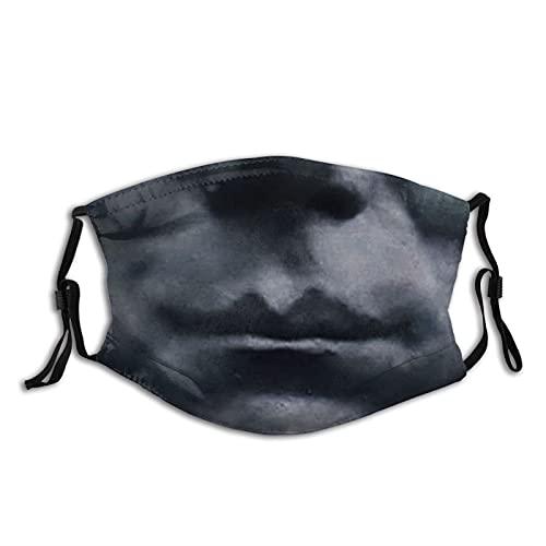 Michael Myers Mask Halloween 1978 Face M-A-S-K, cómodo pasamontañas reutilizable Bandana ajustable bufanda para adultos (con 2 filtros)
