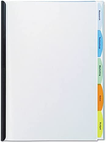 GBC - Polypropylene OFFicial shop View-Tab Report Letter Bar Cover Gorgeous Binding