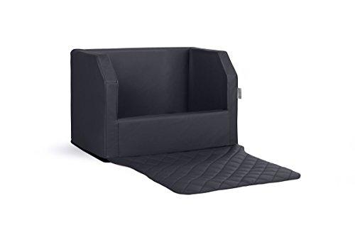 Lieferung durch ridge-shop.de Travelmat Plus Kofferraum Hundebett fürs Auto 90x70 cm Kunstleder schwarz