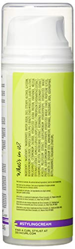 DevaCurl Styling Cream, Define and Control, Touchable Hold, 5.1 Fl Oz (Pack of 1)
