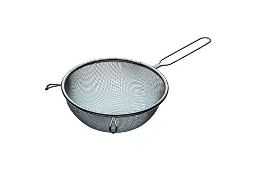 KitchenCraft - Grande Passoire Traditionnelle en Acier Inoxydable, 18 cm