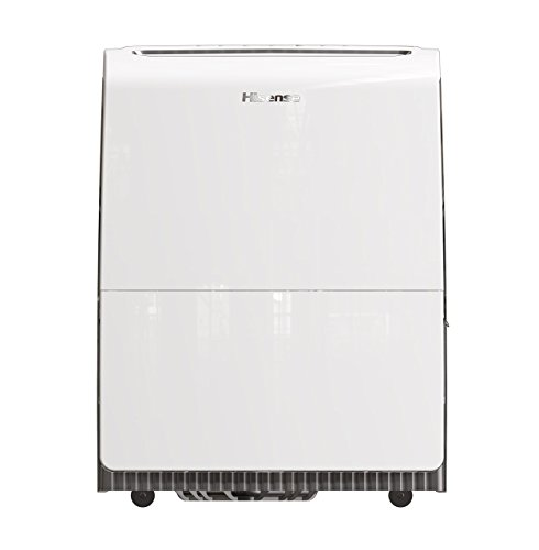 Hisense 100Pint Inverter Dehumidifier with Pump, White (Renewed)