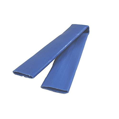 Connex Gurt- und Kantenschutz 500 mm - blau - Geeignet für Gurtbreiten bis 50 mm - Aus strapazierfähigem PVC / Gurtbandschoner / Spanngurtsschoner / DY270634