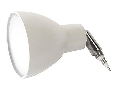 ESTO VARiO Home LED Leuchtenkopf weiss, chrom, 360lm, 3000K, Spotkopf