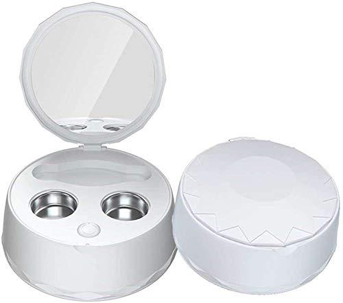 SILENTLY Tragbarer Kontaktlinsen-Reiniger, USB-Lade- / Automatische Desinfektion/Elektro-Ultraschallreinigungsmittel, Für Home/Outdoor-Reisen,B