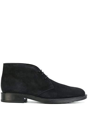 Tod's Hombre XXM45A00D80RE0U805 Azul Gamuza Zapatos