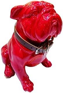 Dubai Decoration - Red Bluetooth Speaker Pitbull Portable Bluetooth & USB 20x27x28cm.